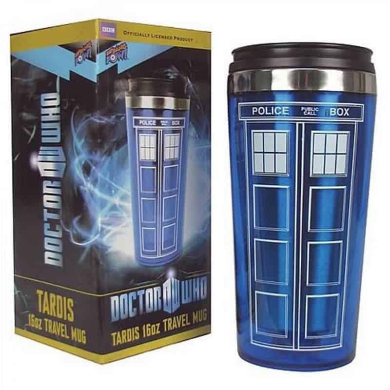 dr who travel mug