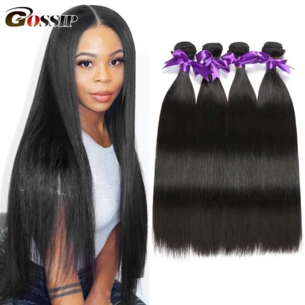 straight brazilian hair product image